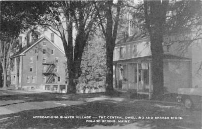 sha400059 - Old Vintage Shaker Post Card