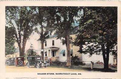 sha400066 - Old Vintage Shaker Post Card