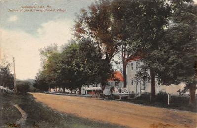 sha400078 - Old Vintage Shaker Post Card