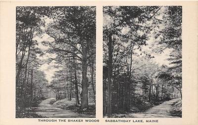 sha400117 - Old Vintage Shaker Post Card