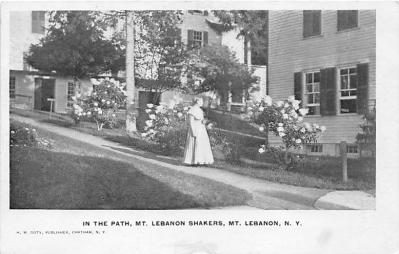 sha500067 - Old Vintage Shaker Post Card