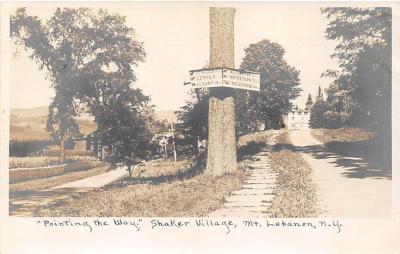 sha500107 - Old Vintage Shaker Post Card