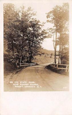 sha500194 - Old Vintage Shaker Post Card