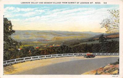 sha500209 - Old Vintage Shaker Post Card