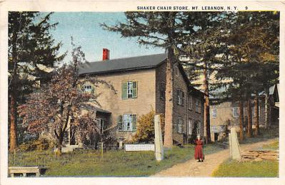 sha500301 - Old Vintage Shaker Post Card