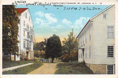 sha500309 - Old Vintage Shaker Post Card
