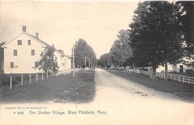 sha500352 - Old Vintage Shaker Post Card