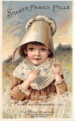 sha500370 - Old Vintage Shaker Post Card