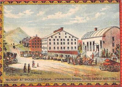 sha500383 - Old Vintage Shaker Post Card