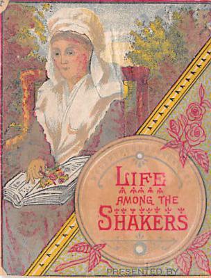 sha500385 - Old Vintage Shaker Post Card