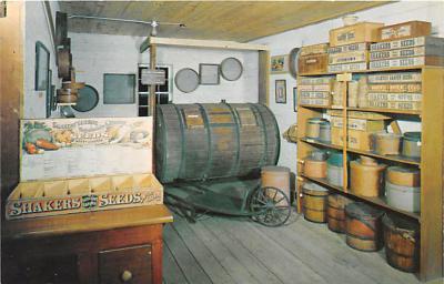 sha600160 - Old Vintage Shaker Post Card