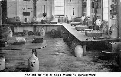 sha600239 - Old Vintage Shaker Post Card