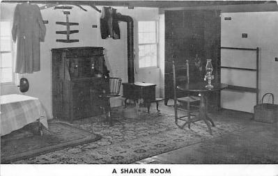 sha600240 - Old Vintage Shaker Post Card
