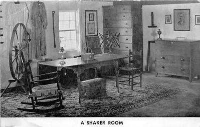 sha600242 - Old Vintage Shaker Post Card