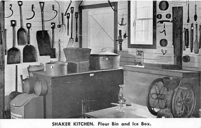 sha600245 - Old Vintage Shaker Post Card