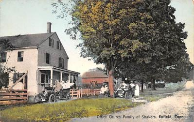 sha700029 - Shaker Postcards Old Vintage Antique Post Cards