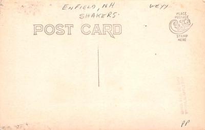 sha700043 - Shaker Postcards Old Vintage Antique Post Cards  back