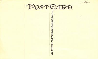sha700085 - Shaker Postcards Old Vintage Antique Post Cards  back
