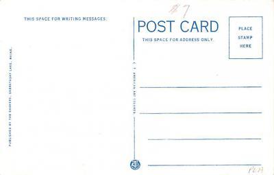 sha700099 - Shaker Postcards Old Vintage Antique Post Cards  back