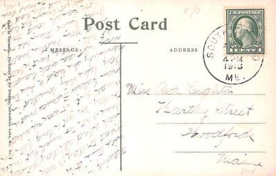 sha700101 - Shaker Postcards Old Vintage Antique Post Cards  back