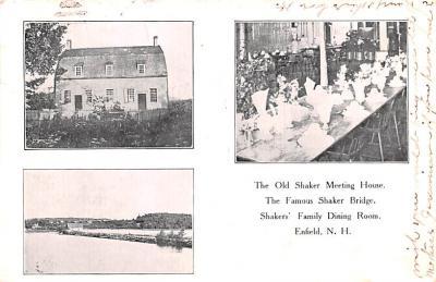 sha700193 - Shaker Postcards Old Vintage Antique Post Cards