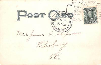 sha700193 - Shaker Postcards Old Vintage Antique Post Cards  back