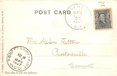 sha700197 - Shaker Postcards Old Vintage Antique Post Cards  back