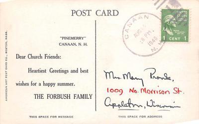 sha700207 - Shaker Postcards Old Vintage Antique Post Cards  back
