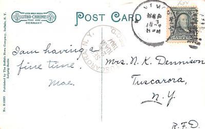 sha700219 - Shaker Postcards Old Vintage Antique Post Cards  back