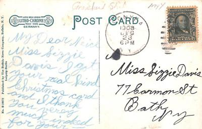 sha700225 - Shaker Postcards Old Vintage Antique Post Cards  back