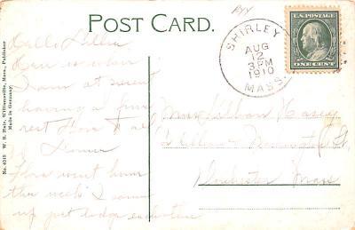 sha700233 - Shaker Postcards Old Vintage Antique Post Cards  back
