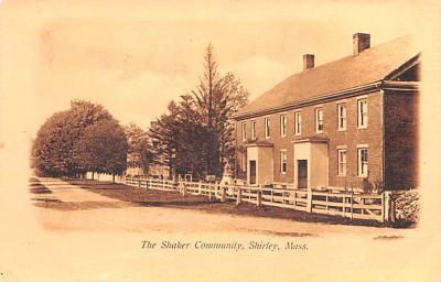 sha700237 - Shaker Postcards Old Vintage Antique Post Cards