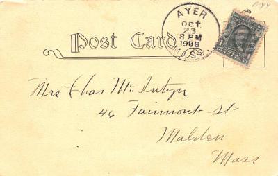 sha700253 - Shaker Postcards Old Vintage Antique Post Cards  back