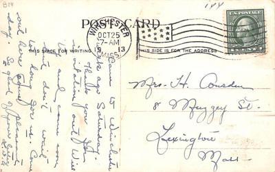 sha700263 - Shaker Postcards Old Vintage Antique Post Cards  back