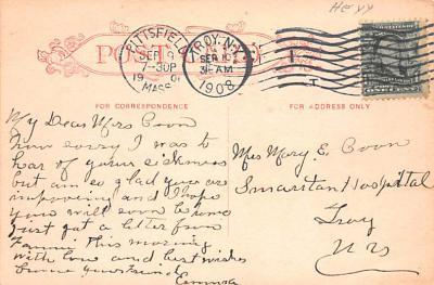 sha700283 - Shaker Postcards Old Vintage Antique Post Cards  back