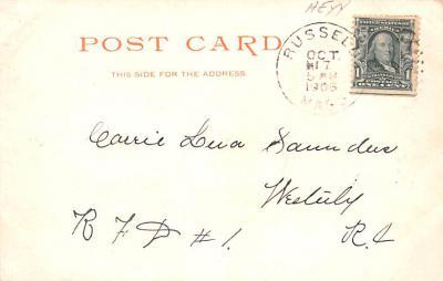 sha700287 - Shaker Postcards Old Vintage Antique Post Cards  back