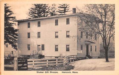 sha700311 - Shaker Postcards Old Vintage Antique Post Cards