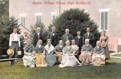 sha700327 - Shaker Postcards Old Vintage Antique Post Cards