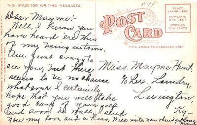 sha700337 - Shaker Postcards Old Vintage Antique Post Cards  back