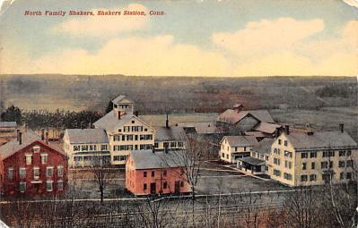 sha700383 - Shaker Postcards Old Vintage Antique Post Cards