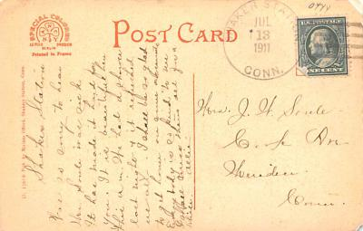 sha700383 - Shaker Postcards Old Vintage Antique Post Cards  back