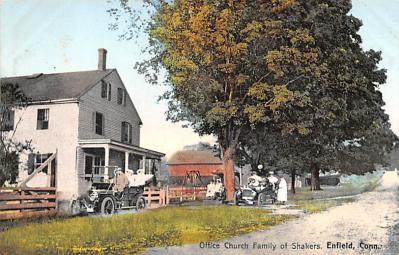 sha700393 - Shaker Postcards Old Vintage Antique Post Cards