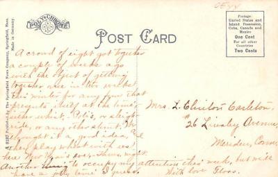 sha700393 - Shaker Postcards Old Vintage Antique Post Cards  back