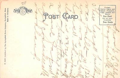 sha700401 - Shaker Postcards Old Vintage Antique Post Cards  back