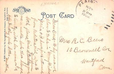 sha700403 - Shaker Postcards Old Vintage Antique Post Cards  back