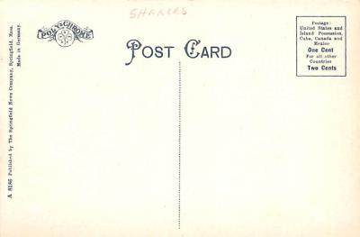 sha700415 - Shaker Postcards Old Vintage Antique Post Cards  back