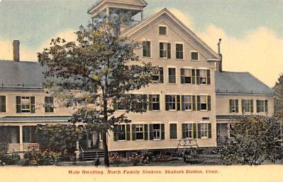 sha700433 - Shaker Postcards Old Vintage Antique Post Cards