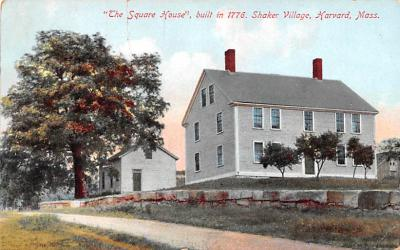 sha700457 - Shaker Postcards Old Vintage Antique Post Cards