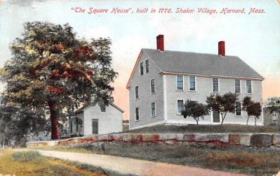 sha700463 - Shaker Postcards Old Vintage Antique Post Cards