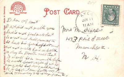 sha700463 - Shaker Postcards Old Vintage Antique Post Cards  back